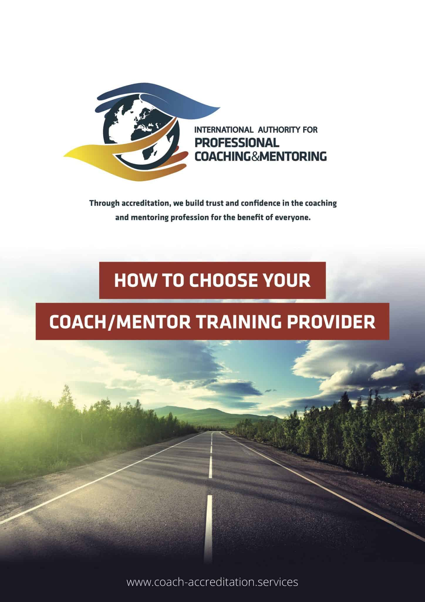 Choose your Coach / Mentor Training Provider