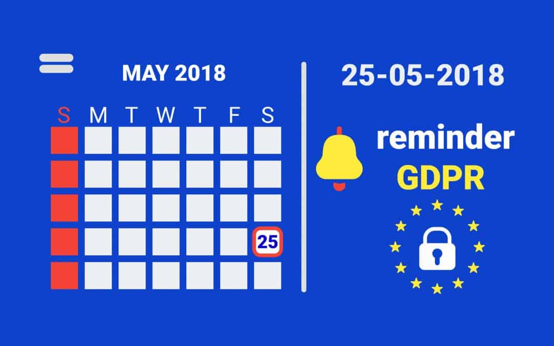 """New GDPR regulations – how ready are you""?"