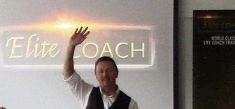 John Mill, coach, founder and CEO of Evolve College, UK
