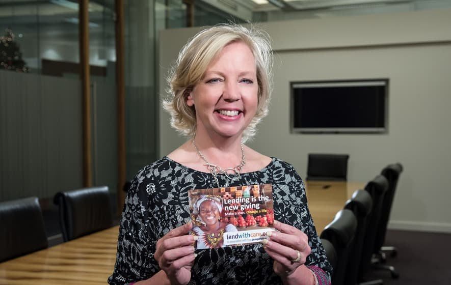 "Lendwithcare – ""Deborah Meaden: Business does and should add to community"""