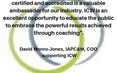 David Monro-Jones, COO, IAPC&M Supporting ICW 2019