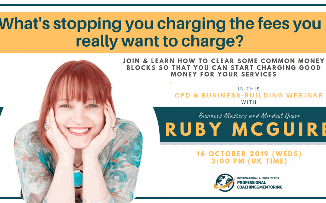 What's stopping you charging the fees you really really want to charge?