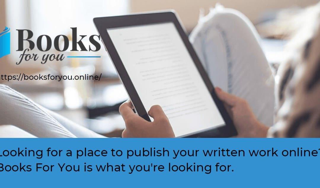 e-Books Offers you a Publishing Platform