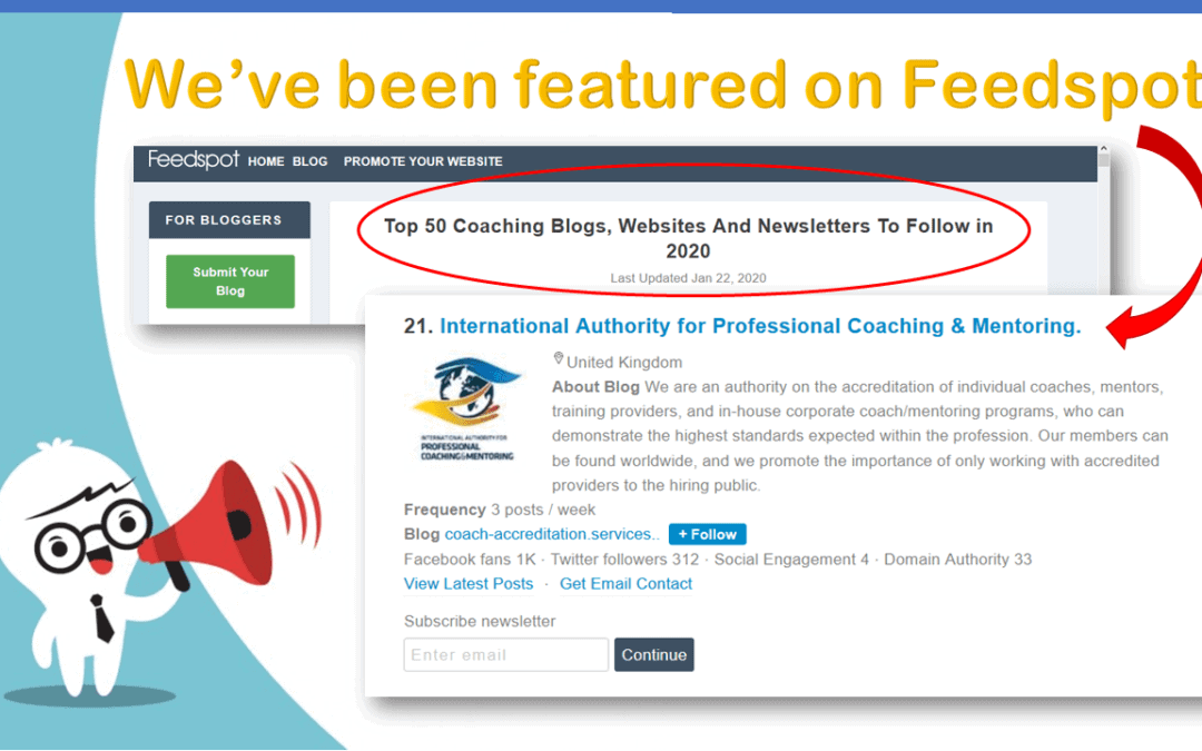 IAPC&M Featured on Feedspot
