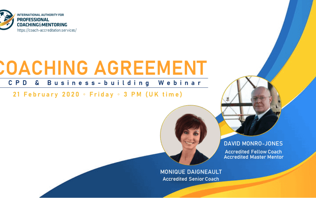 COACHING AGREEMENT: A CPD & Business-building Webinar
