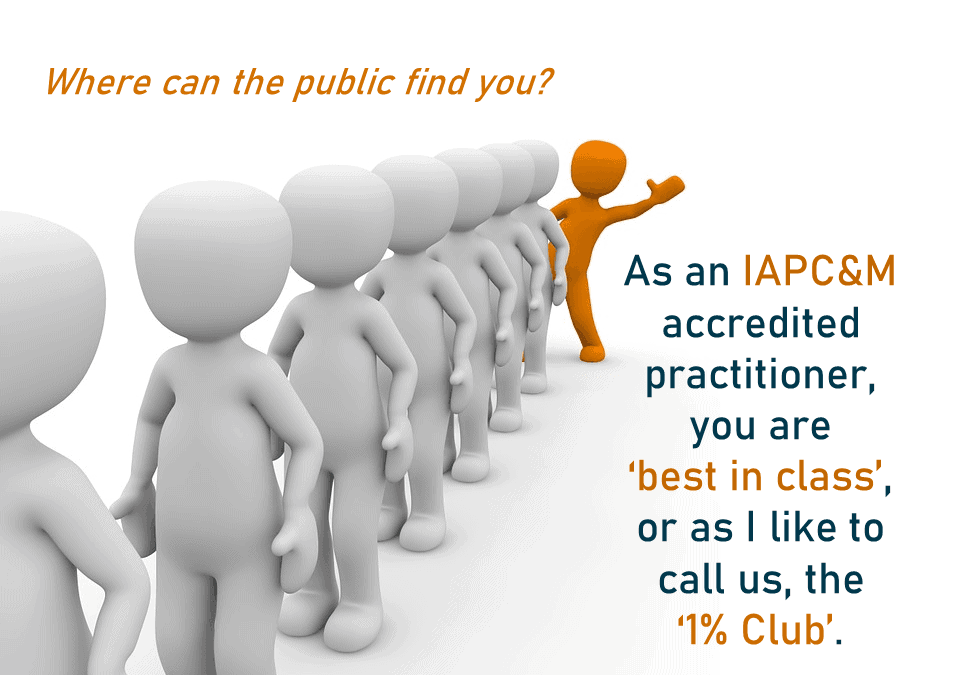 Where can the public find you?