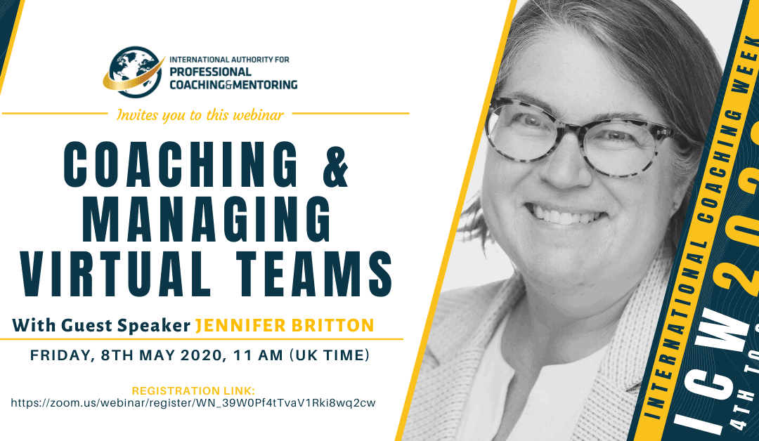 ICW2020: Coaching & Managing Virtual Teams