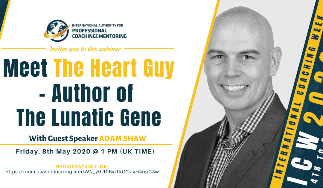 ICW2020: Meet The Heart Guy – Author of The Lunatic Gene