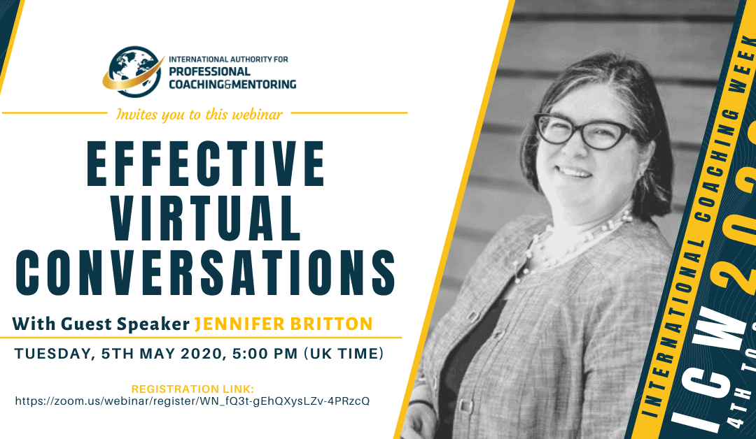 ICW2020: Effective Virtual Conversations