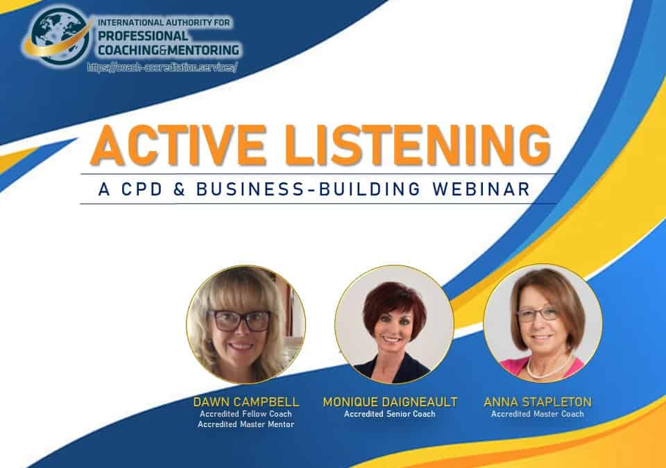 Active Listening – Here's what you missed from the webinar!