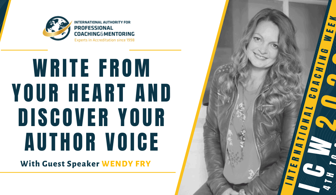 Write From Your Heart & Discover Your Author Voice – Here's what you missed from the webinar!