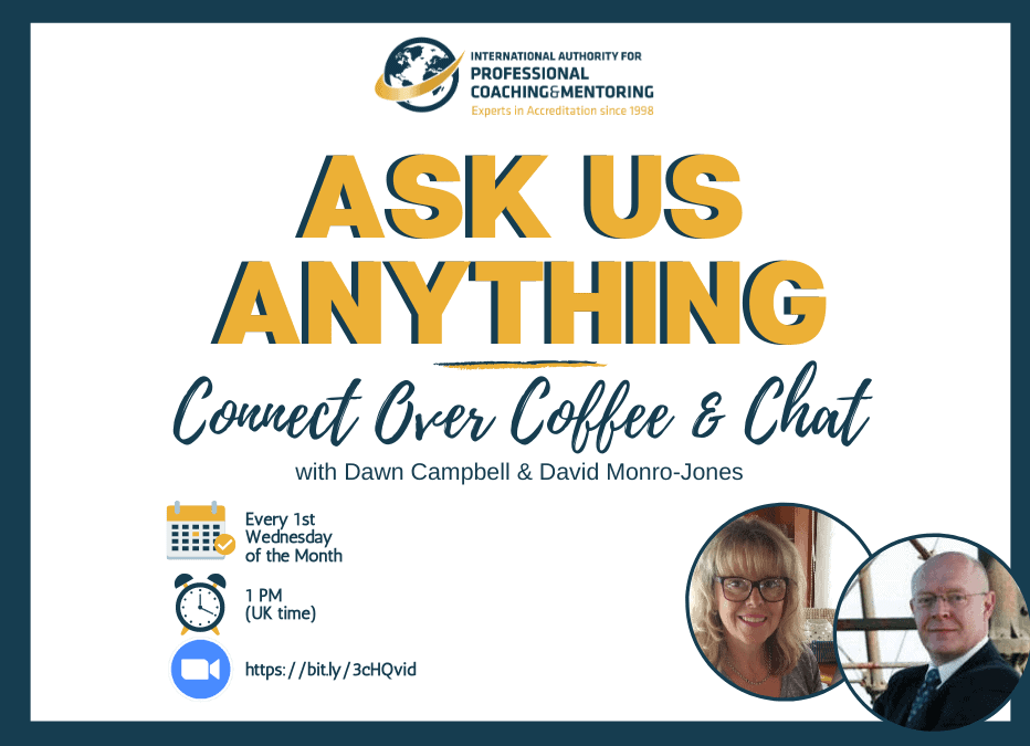 Ask Us Anything – Connect over Coffee & Chat