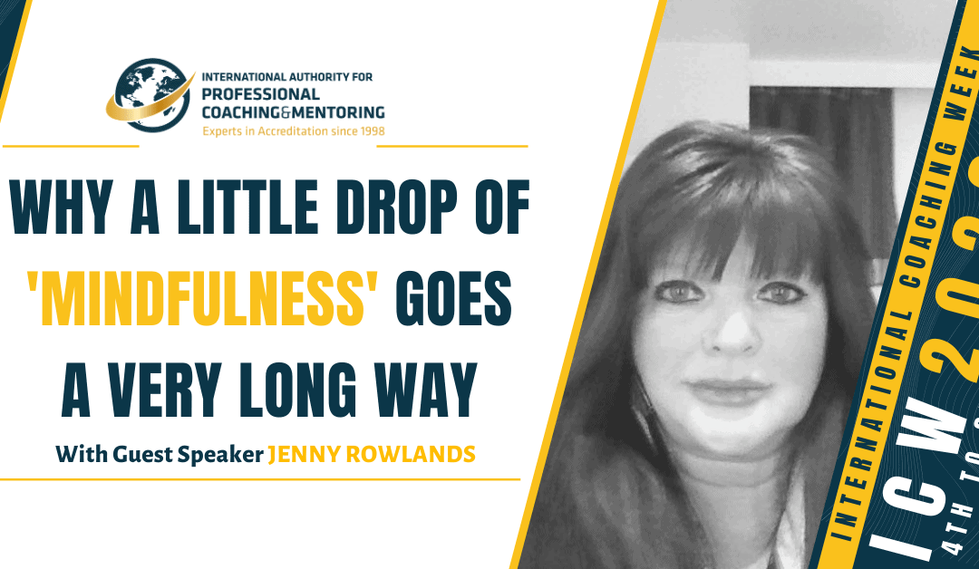 Why a Little Drop of 'Mindfulness' Goes a Very Long Way – Here's What You Missed From the Webinar