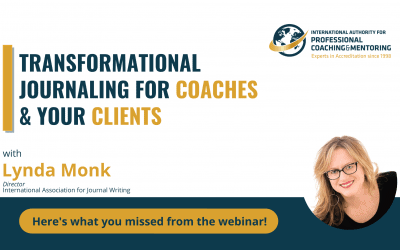 Transformational Journaling for Coaches & Your Clients – Here's What You Missed From the Webinar
