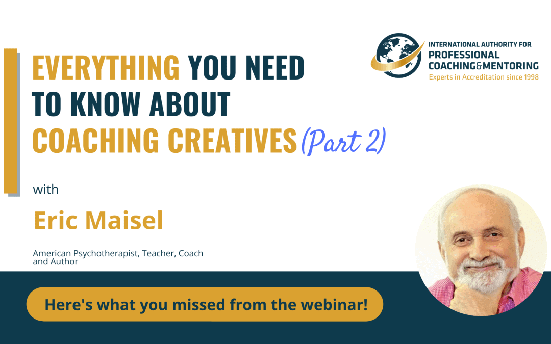 Everything You Need to Know About Coaching Creatives (PART 2)- Here's what you missed from the webinar!