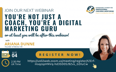 You're Not Just A Coach, You're A Digital Marketing Guru, Or At Least You Will Be After This Webinar