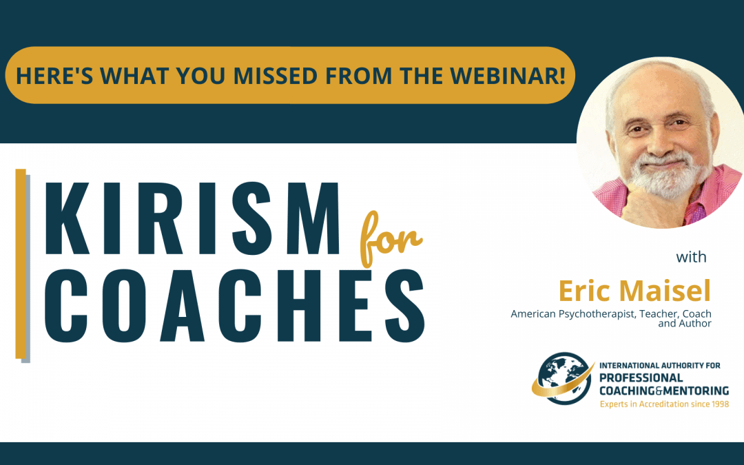 Kirism for Coaches – Here's What You Missed From the Webinar!