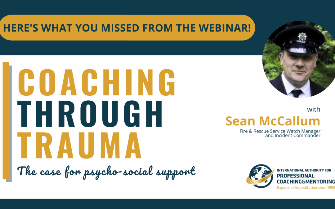 Coaching Through Trauma – Here's What You Missed From the Webinar!