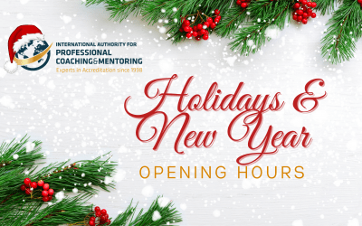 Holidays & New Year Opening Hours