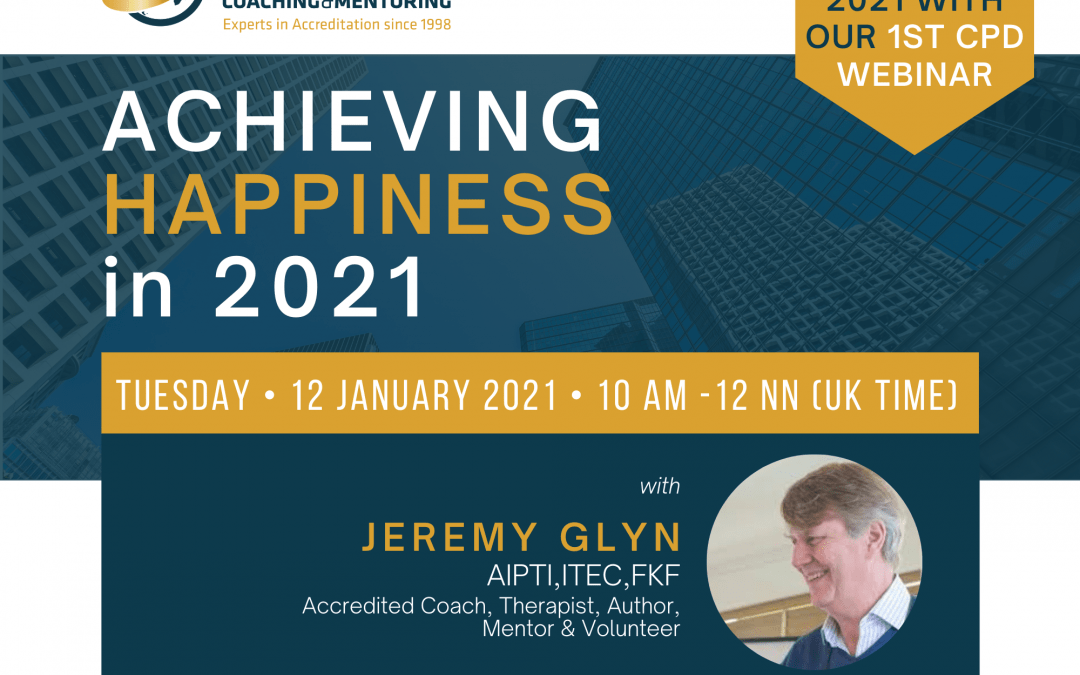Achieving Success in 2021 (A Webinar with Jeremy Glyn)