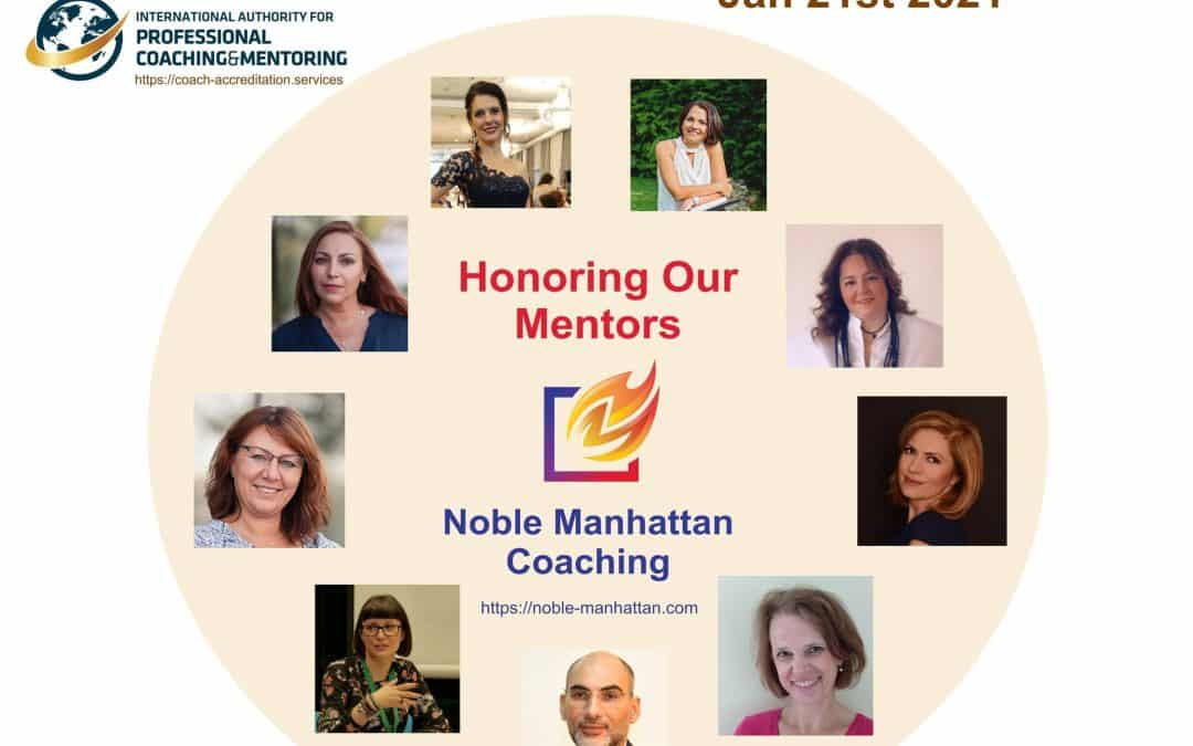 Honouring our Mentors on the International Mentors Day