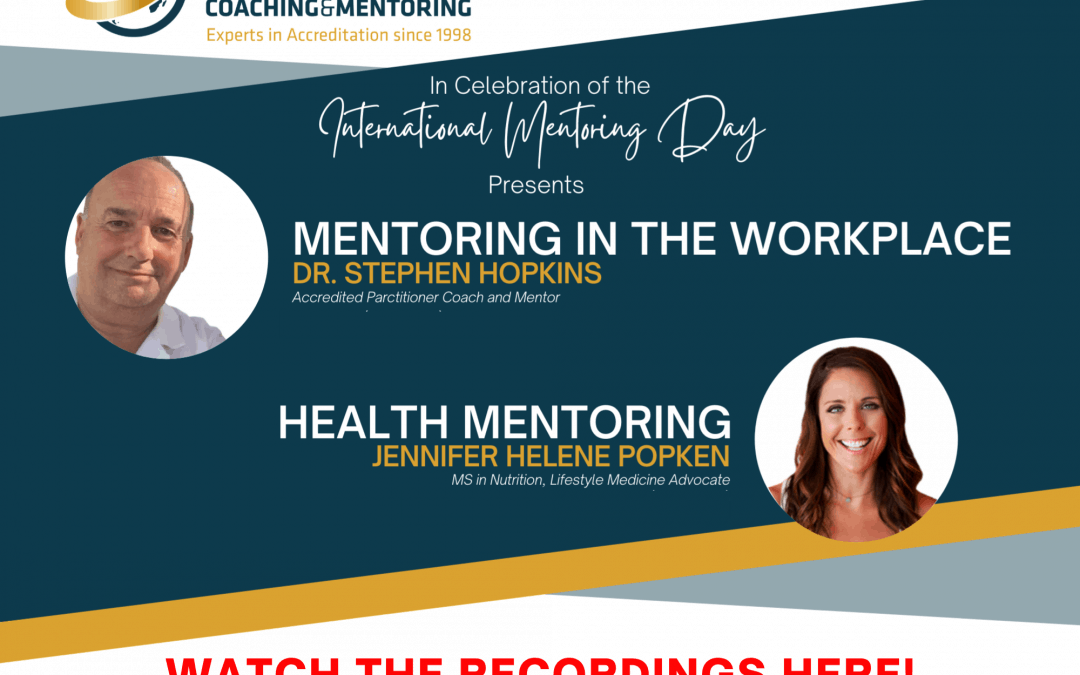 2 Mentoring Webinars You Missed
