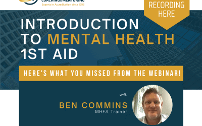 Introduction to Mental Health 1st Aid