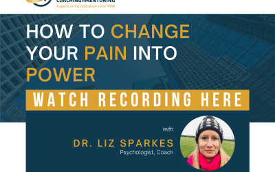 How to Change Your Pain Into Power