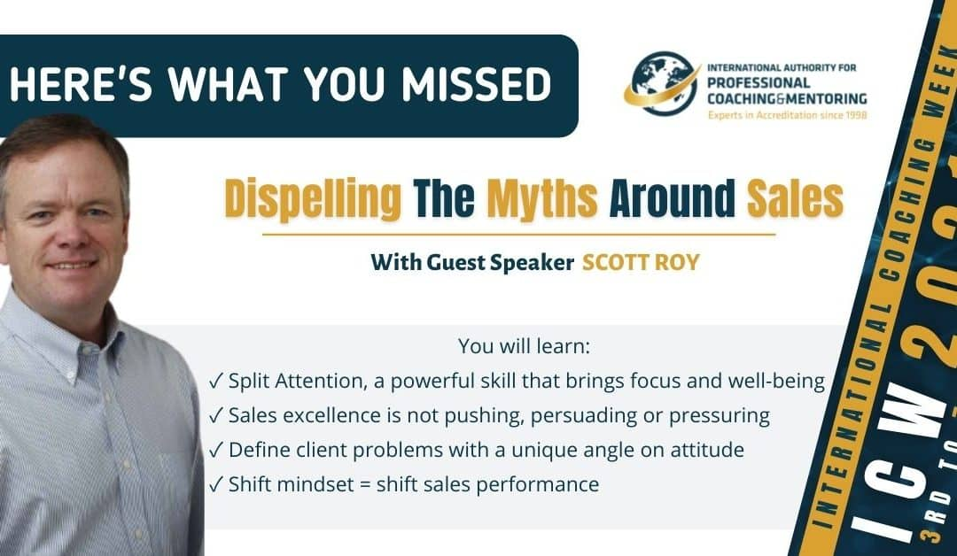 Dispelling The Myths Around Sales