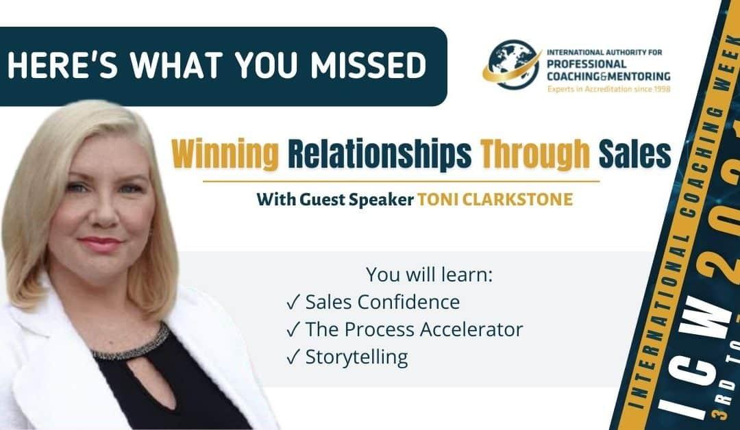 Winning Relationships Through Sales