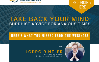 Here's What You Missed: Take Back Your Mind – Buddhist Advice for Anxious Times