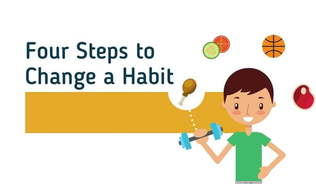 Four Steps to Change a Habit