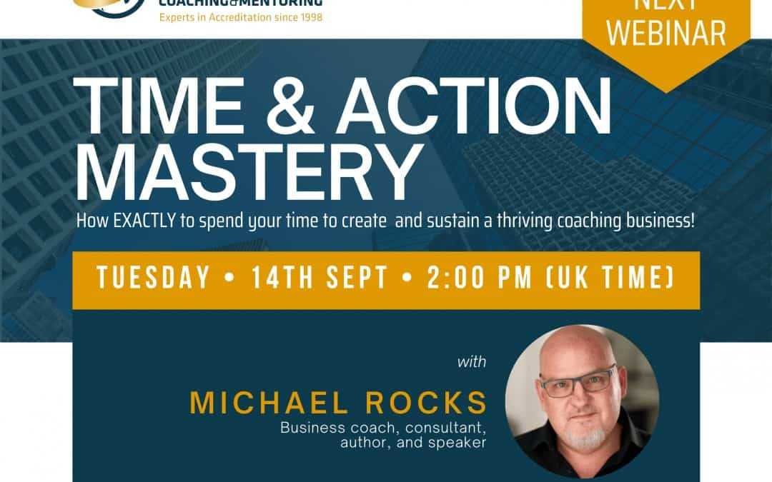 Live Masterclass: Time & Action Mastery with Michael Rocks