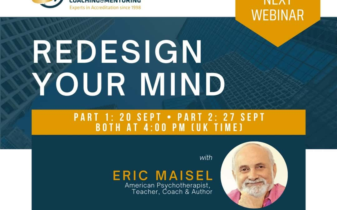 Live Masterclass: Redesign Your Mind with Eric Maisel