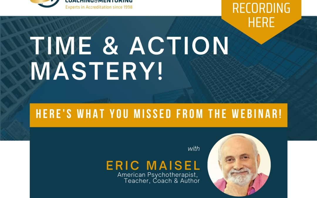 Redesign Your Mind with Eric Maisel – Here's what you missed!